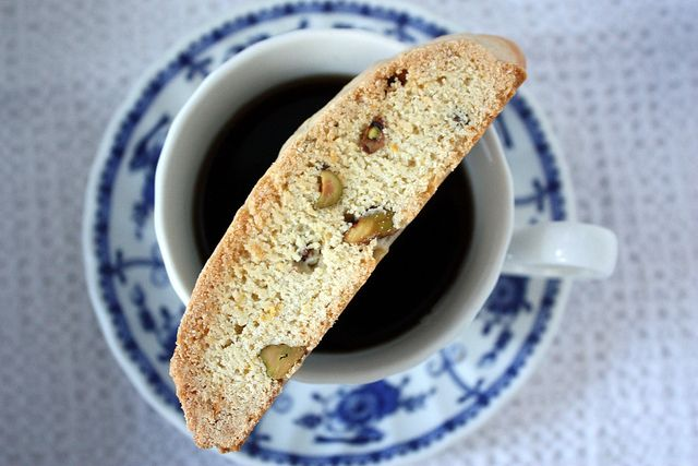Lemon Pistachio Biscottie, With a cup of Joe by Completely Delicious ...