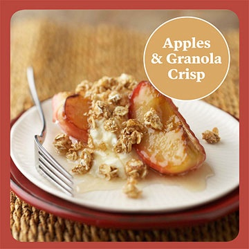 Apples and Granola Breakfast Crisp | Foods and Beverages | Pinterest