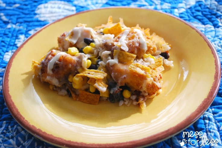 Southwestern Casserole recipe. Easy to make and its great.
