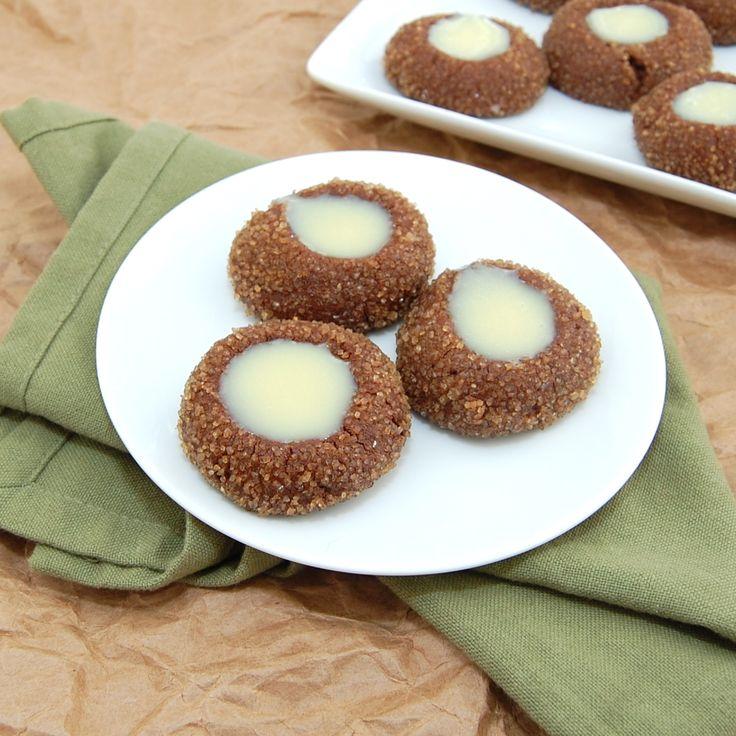 Chocolate Mint Thumbprints