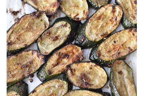 Broiled Zucchini-want to try this with eggplant