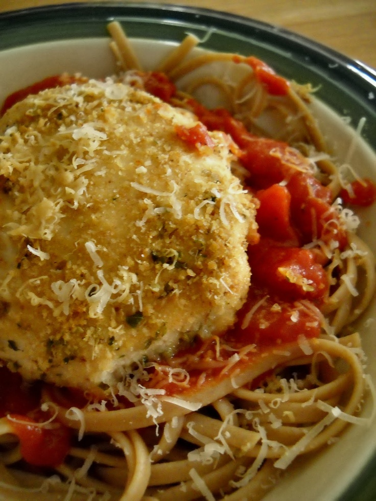 Baked Chicken Parmesan Recipe — Dishmaps