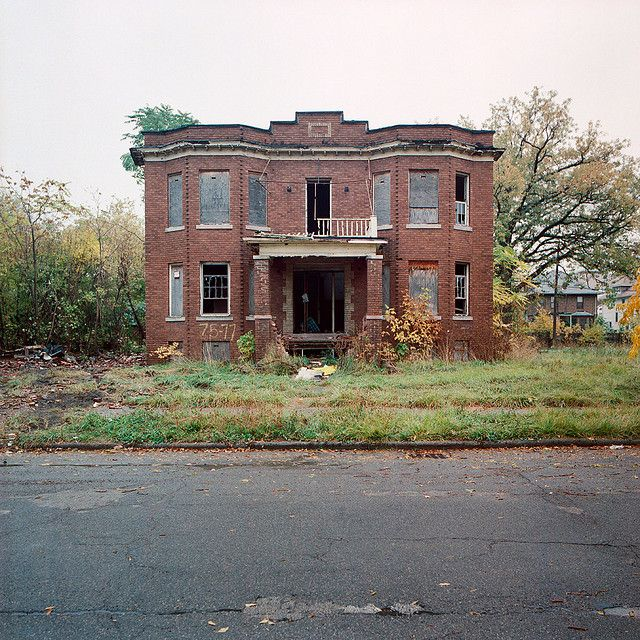 Abandoned House In Detroit Michigan Houses Left