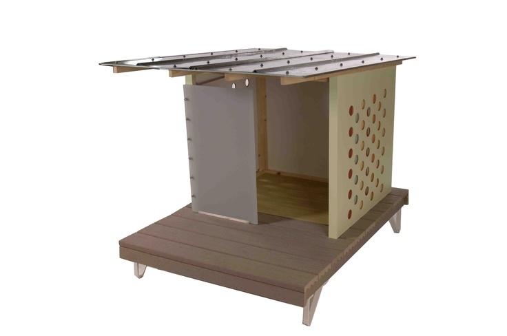 Modern dog house design in the dog house pinterest for Modern dog house designs