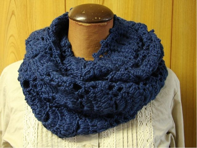 crochet snood Crochet Pinterest