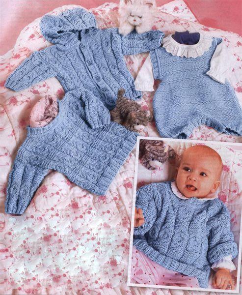 Верена вязание для новорожденных 518
