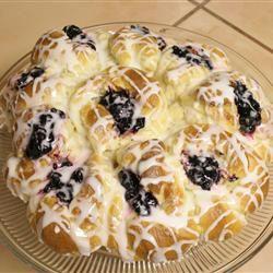 Pull-Apart Easter Blossom Bread Allrecipes.com