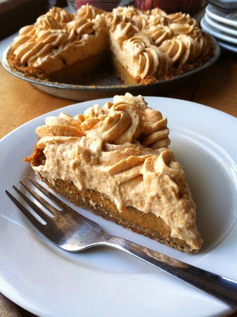Pumpkin Mousse pie | almacucina | Pinterest