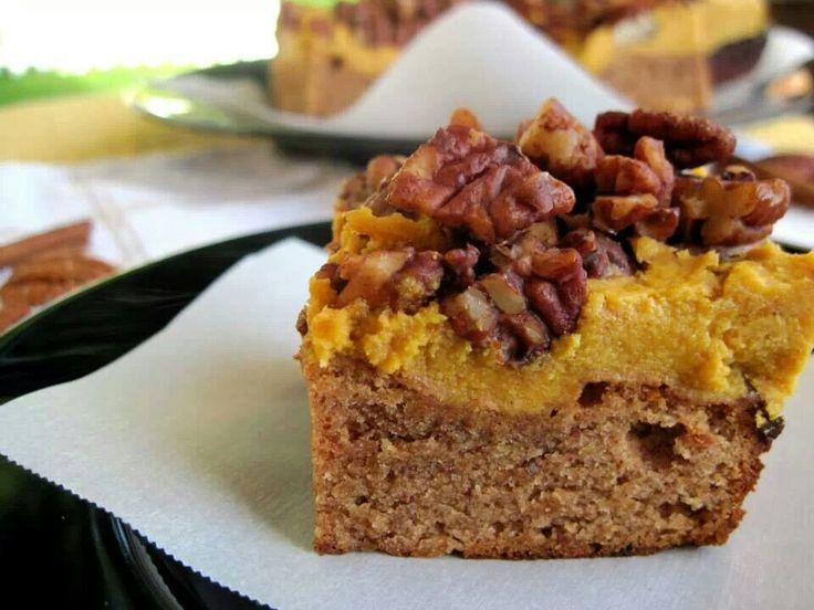 Paleo pumpkin pie bars #paleo #pumpkin   Dessert   Pinterest