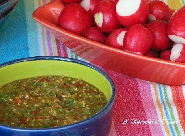 Tomatillo-Chipotle Salsa Yummmmm! | Salsa!!!! | Pinterest