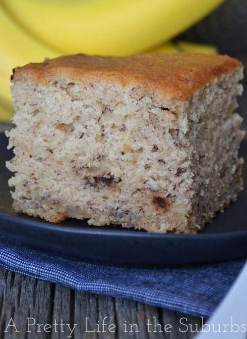 Banana Bread Sheet Cake | Recipe