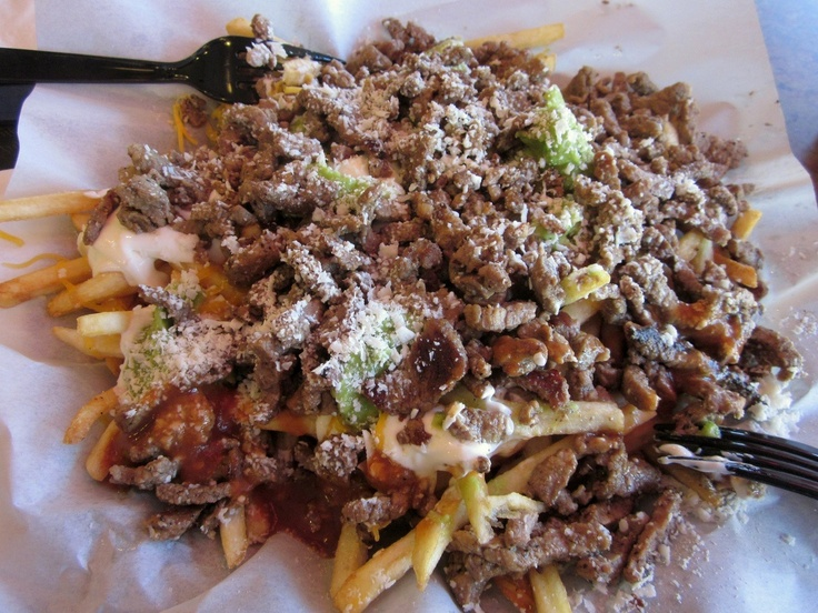 Lolita's carne asada fries from SD | Mexican | Pinterest