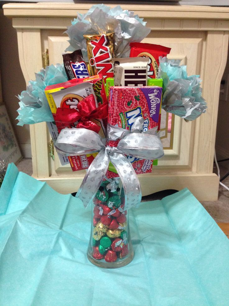 Diy Candy Centerpiece Ideas : Diy candy bouquet my diys pinterest