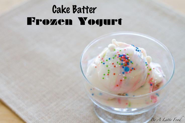 freezing cake batter
