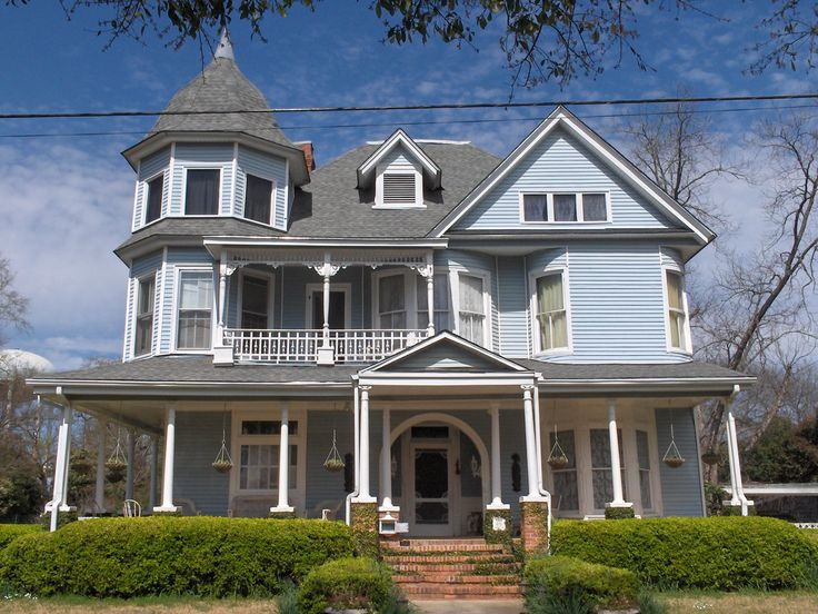 Stunning queen anne victorian style 14 photos home plans for Queen anne victorian homes
