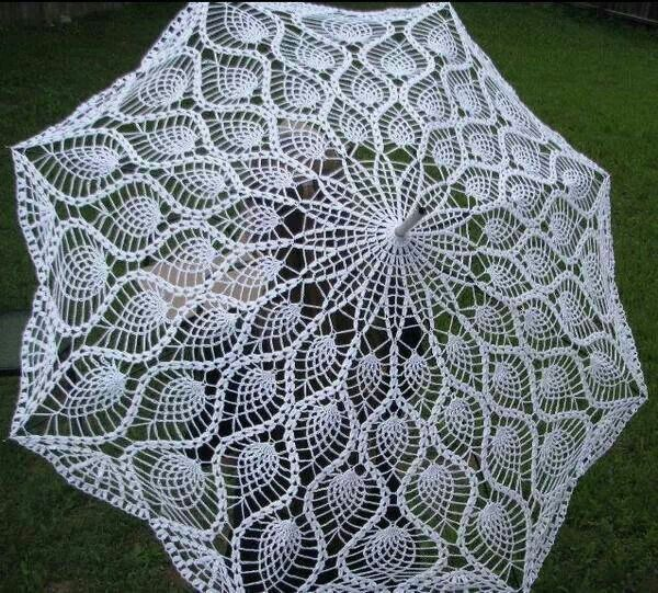 Crocheted parasol Things I love Pinterest