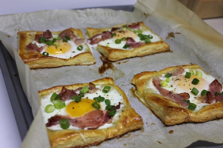Bacon-and-Egg Breakfast Tarts Recipes — Dishmaps