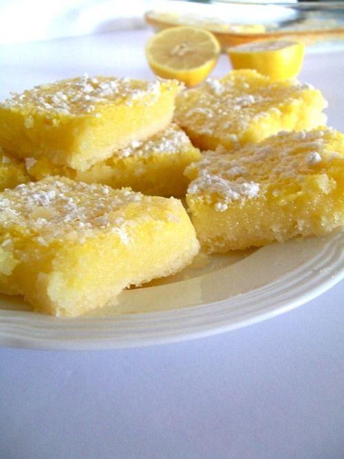 Lemon bars | Food | Pinterest