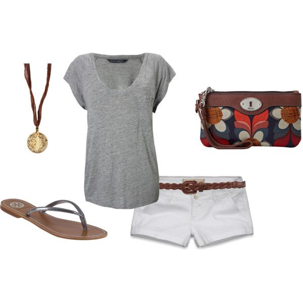 """""""casual summer neutrals"""" by ohsnapitsalycia on Polyvore"""