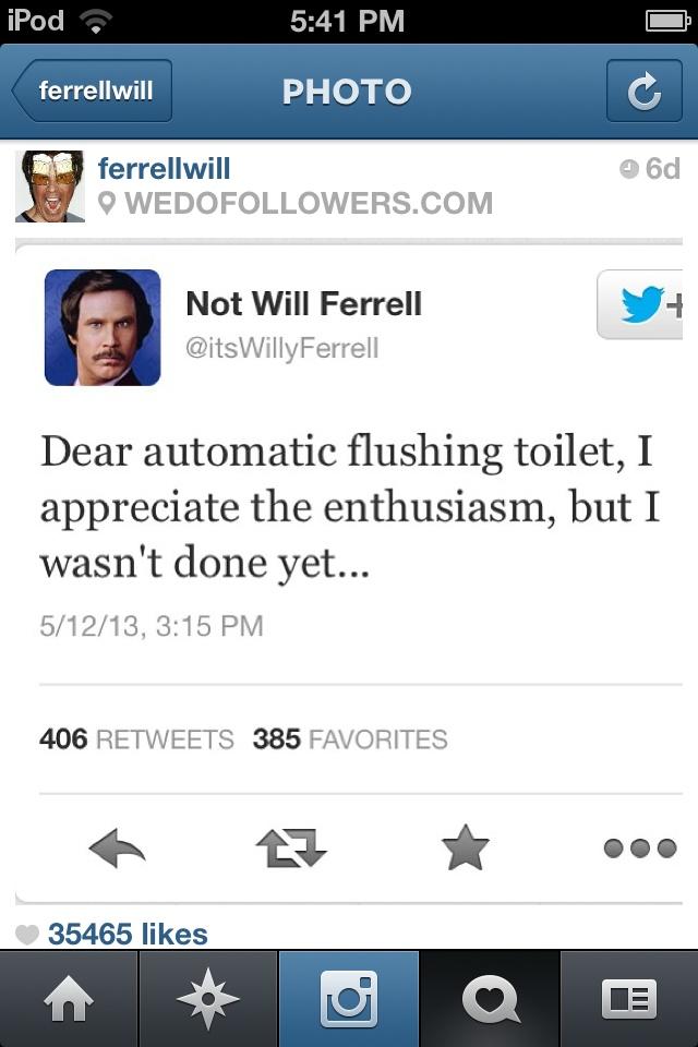 Will Ferrell Quotes Facebook Hilarious will ferrel quotes