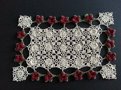 Spiderweb Table Topper Crochet Pattern - Free Crochet