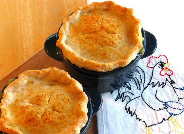 Individual Chicken Pot Pies | Yummy recipes | Pinterest