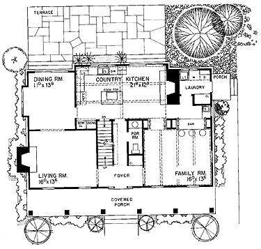 Palladian Home Plans in addition 1850 Farmhouse Floor Plan also New England Farmhouse Designs additionally Simple Modern House Design In Sri Lanka as well Narrow Lot Home Plans Coastal. on new england style farmhouse plans
