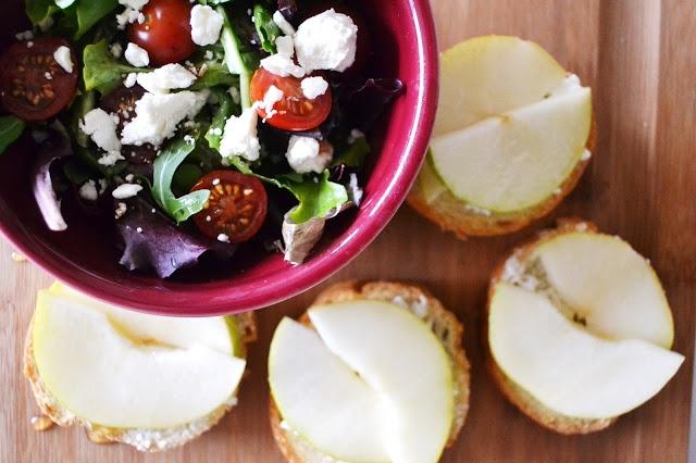 pear and goat cheese crostini the stir pear goat cheese crostini