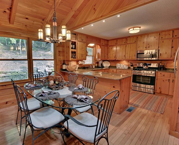 Cabin Dining Room Beautiful Log Cabin Dining Rooms
