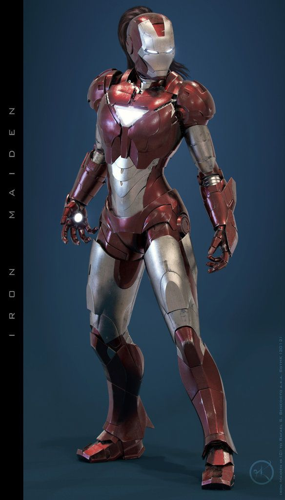 Iron Maiden : Concept Iron Woman Suit