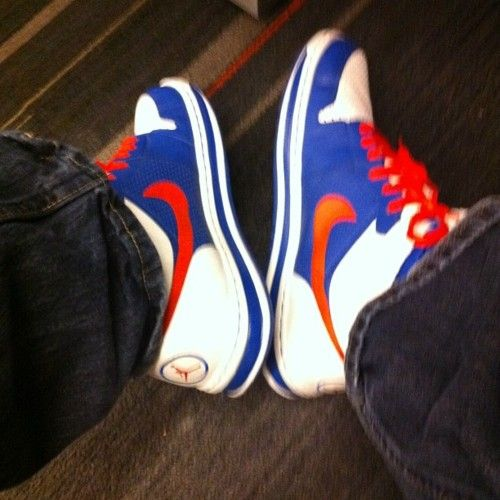 It ain't spring until I can break out these kicks.