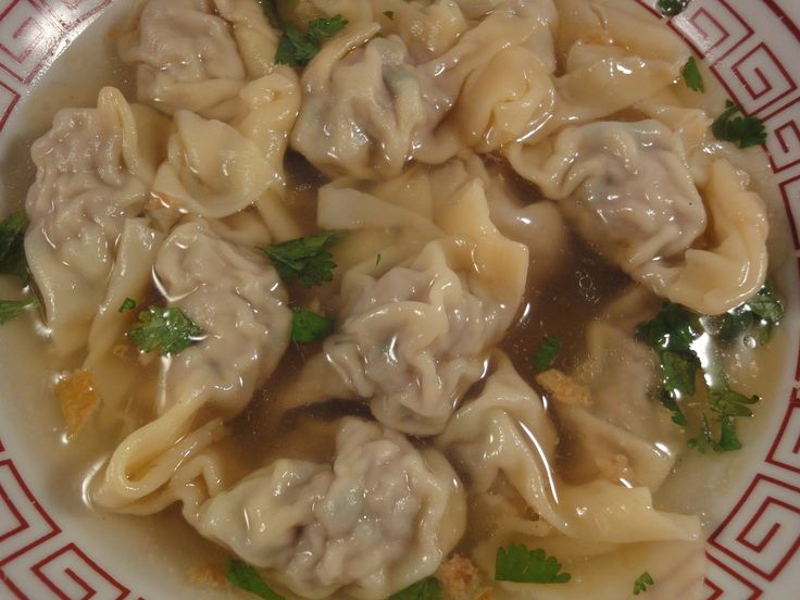 Classic Chinese Wontons Recipe — Dishmaps