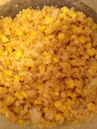 Sweet corn and quinoa | Food & Drink | Pinterest