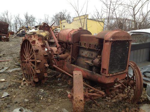 Iron Antique Tractors : Vintage tractors car interior design