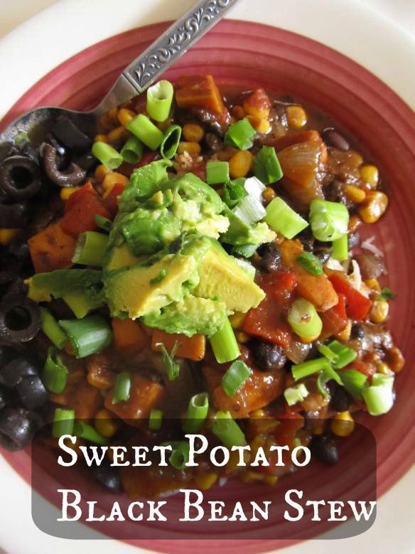 sweet potato and black bean soup | recipes to try--mostly vegetabe ...