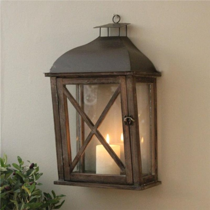 WALL LANTERN OUTDOOR OR INDOOR Lanterns Lights Pinterest