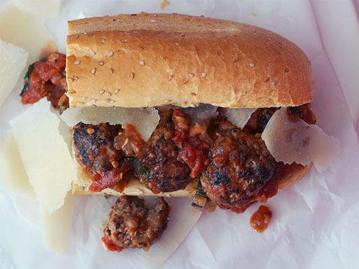 Meatball sub | What's for lunch | Pinterest