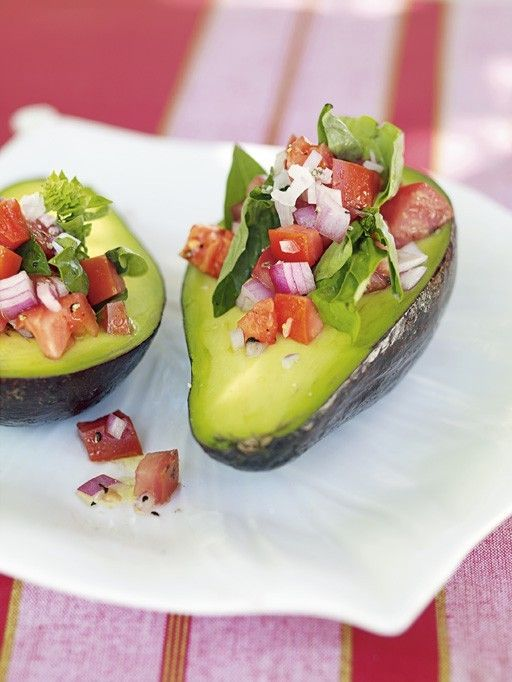 Stuffed Avocados for Salad Bar   Food and Beverages Ideas   Pinterest