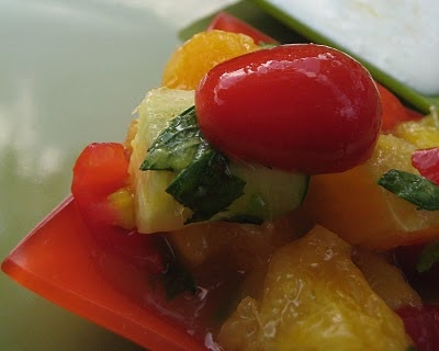 Mint Mango Salsa | My Creations | Pinterest