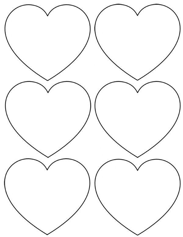 Сердечки из бумаги своими руками шаблоны
