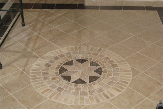 Tile Medallion For The Home Pinterest