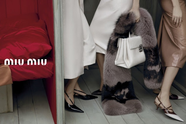 The Miu Miu Spring Summer 13 campaign photographed by Inez van    Bette Franke Miu Miu