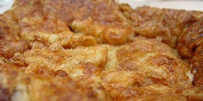 Croissant Pudding | Delicious dinners | Pinterest