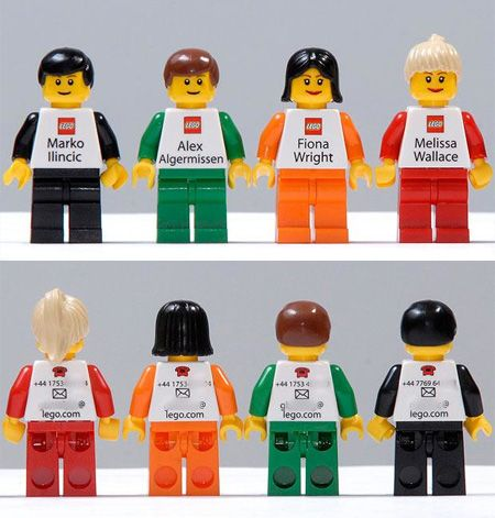 LEGO Business Cards