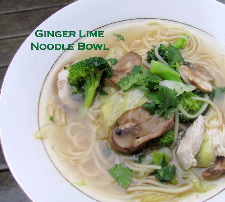 Spicy Chicken Noodle Soup With Lime And Ginger Recipes — Dishmaps