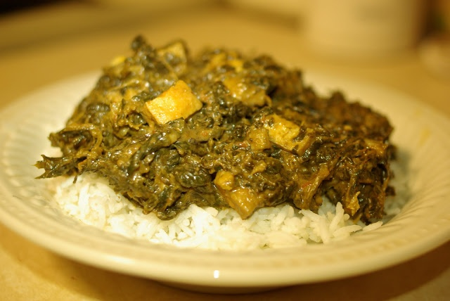 Tofu Saag Paneer Recipe | Main Courses | Pinterest