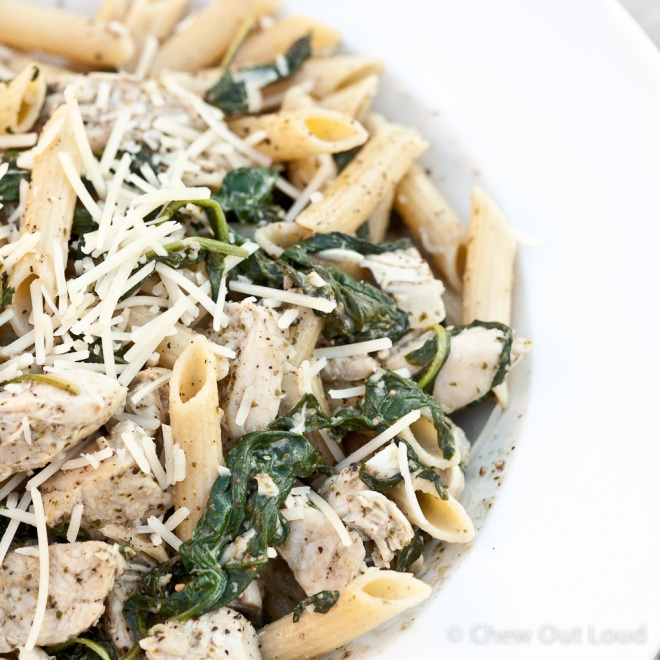 Chicken florentine pesto pasta | Main Events | Pinterest