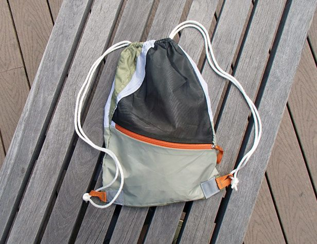 Be a Happy Camper: Make a Backpack From an Old Tent