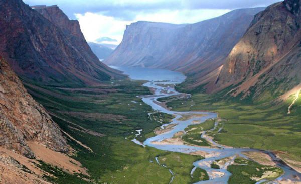 Motherfreakin' Torngat Mountains, the Labrador wild.