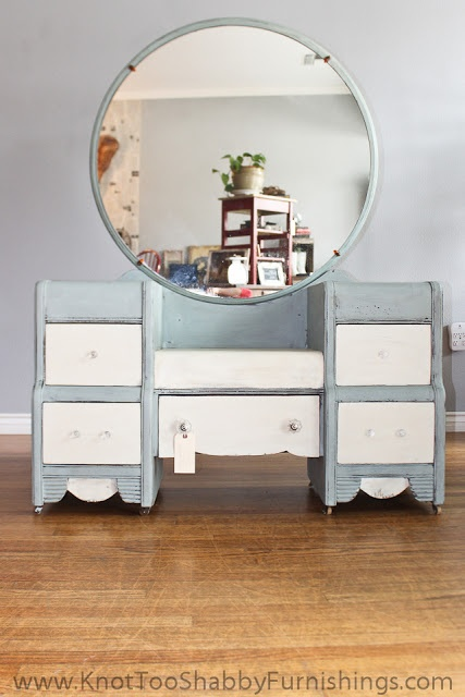 knot too shabby: An Antique Vanity and a Roadside Rescue